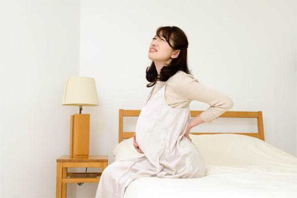 妊娠中の腰の痛み
