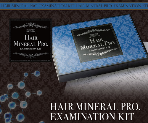 HAIR MINERAL PRO .EXAMINATION KIT(ヘアミネラルプロ)